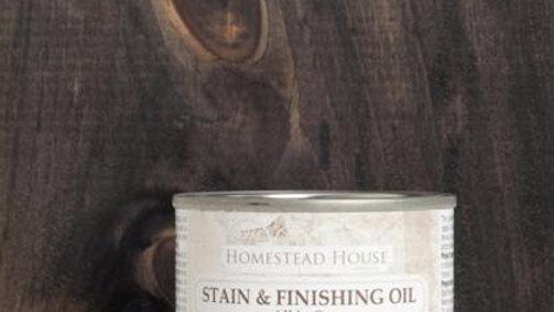 Stain & Finishing Oil - Ebony
