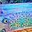 "Thumbnail: Peacock Dreams (24"" x 32"") Transfer"