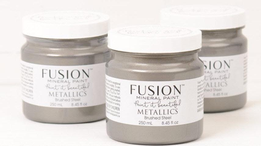 Metallic Brushed Steel