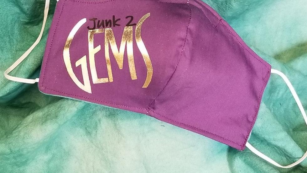 Junk 2 Gems Face Mask