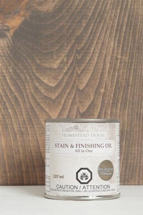 Stain & Finishing Oil - Driftwood