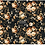 Thumbnail: Dark Floral – (19″ X 30″) Decoupage Tissue Paper