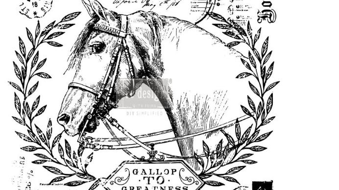 "Fine Horsemen (24""x 33"") Transfer"