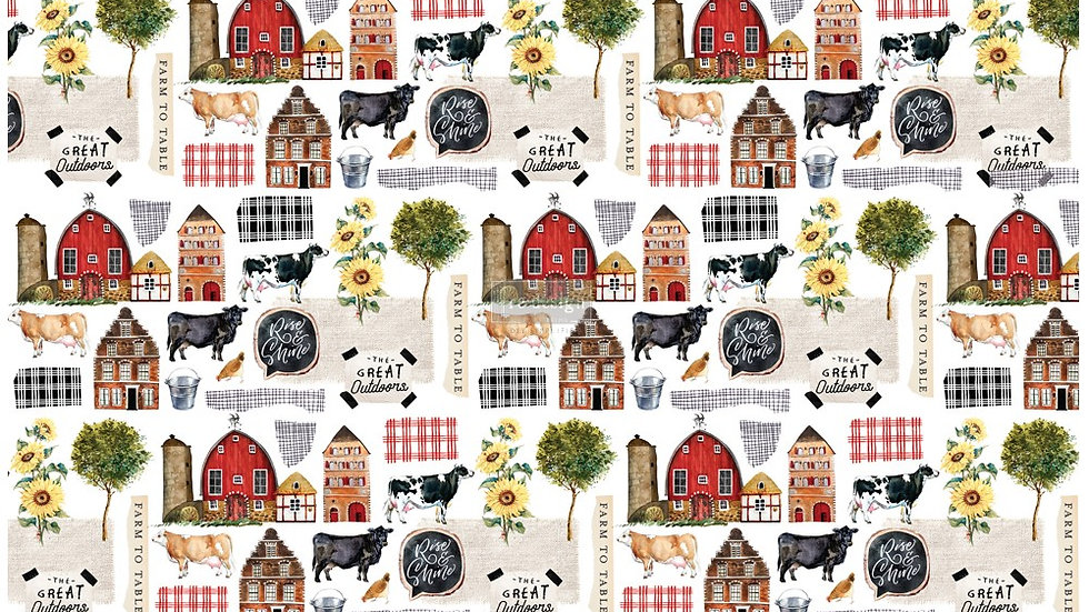 Farm to Table 2 (19″ X 30″) Tissue Paper