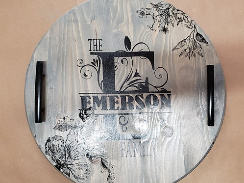 Personalized, Wood Tray - Sat., 02/20/21 (2-4PM)