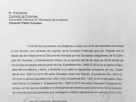 SAN LUIS: Otro logro más de las familias #HipotecadosUVA