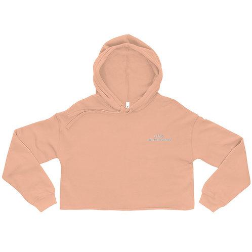 an el lay state of mind cropped sweatshirt