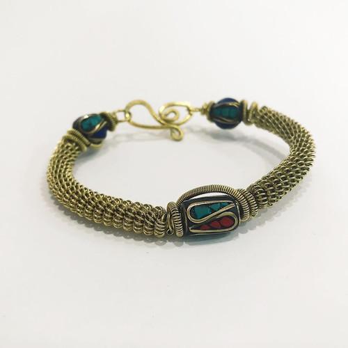 handmade stone bracelet