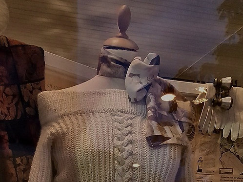 1950's style wool sweater