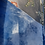 Thumbnail: Beautiful and blue silk velvet skirt