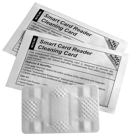 Smart Card Reader Cleaning Card