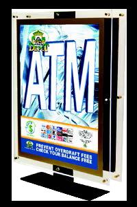 Crystal ATM Topper
