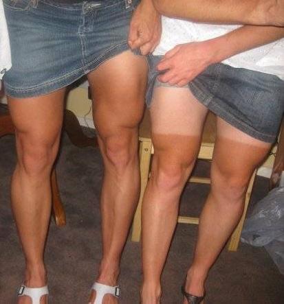Las piernas de las ciclistas
