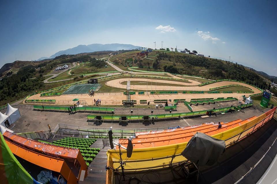 Pista de MTB  para los Juegos Olimpicos Rio 2016