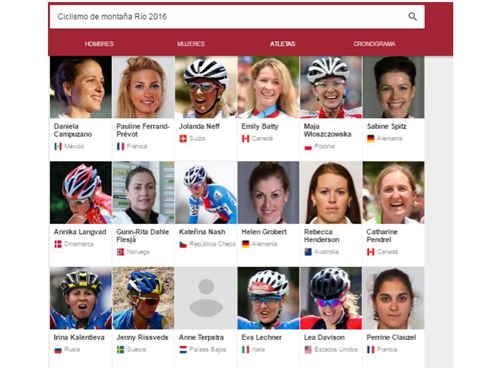 Ciclismo de Montaña Rio 2016