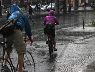 Consejos para rodar bajo lluvia.