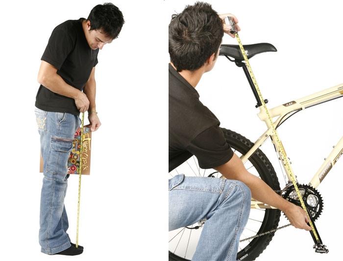 Formas basicas de sacar tu talla en bicicleta.