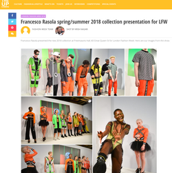 2018 collection presentation for LFW
