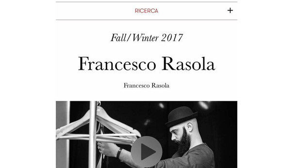 FRANCESCO RASOLA - VOGUE ITALIA