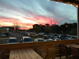 Sunset View from the Lounge Patio