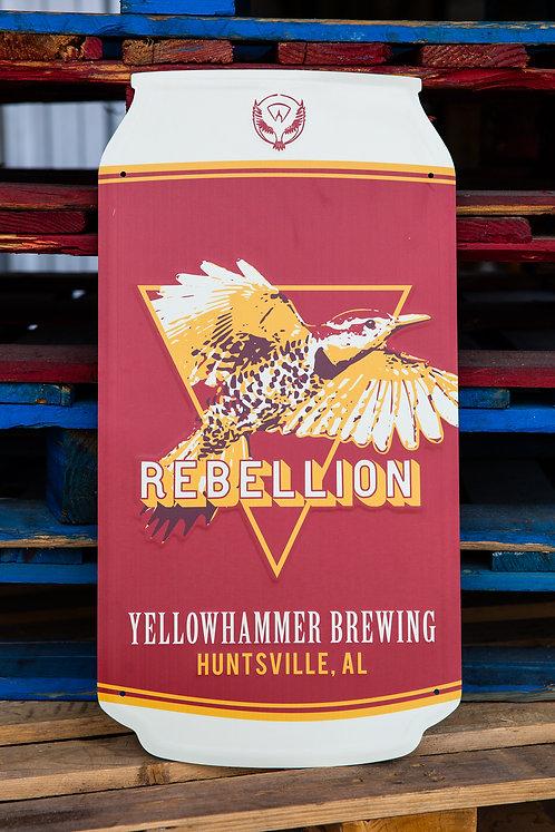 Rebellion Red Tin Tacker