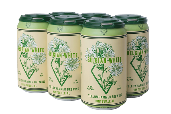 6-pack of Yellowhammer Belgian White