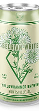 Yellowhammer Brewing Belgian White Can