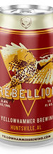 Yellowhammer Brewing Rebellion Red Lager Can