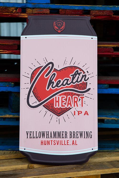 Cheatin' Heart Tin Tacker