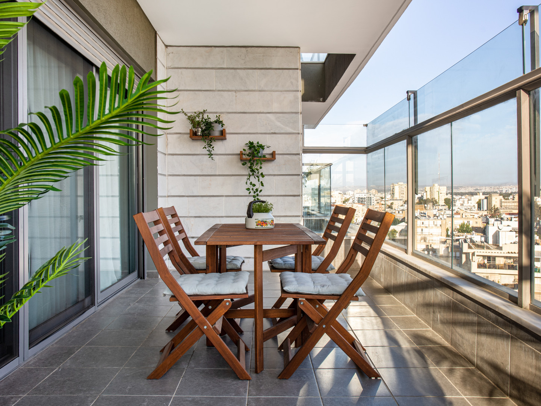 עיצוב  וסטיילינג למרפסת
