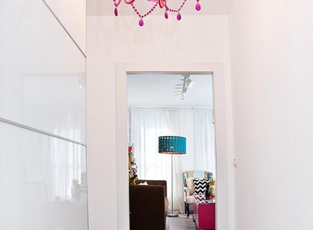 תכנון, עיצוב והום סטיילינג לדירה קטנה 2 חדרים