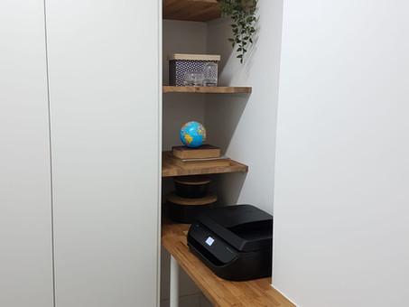 תכנון ועיצוב חדר שרות / משרד בנתניה