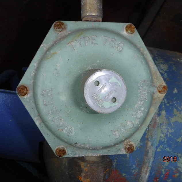 Old gas bottel regulator should be replaced with a marine gas regulator every 10 years