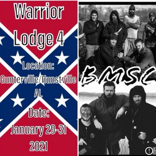 BMSC WARRIOR LODGE 4 JAN29-31 2021