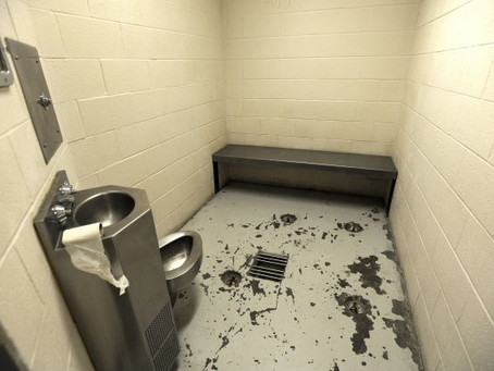 VIOLENCE BLOG #3:  DISRESPECT IN HOLDING CELL 6