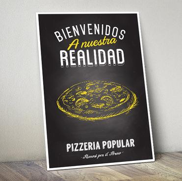 Diseño de Menú para pizzeria