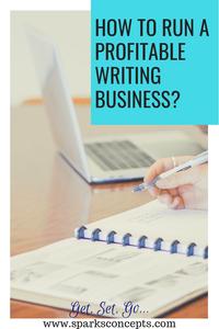 Profitable writing business