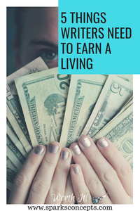5 things you need to know to earn a living from writing