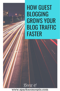 Grow your traffic with guest blogging