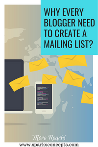 Develop your Mailing List to Build More Audience
