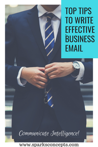 Business email writing tips
