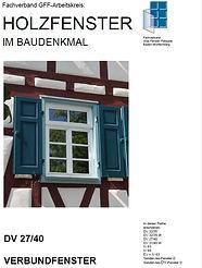 DV2740 Verbundfenster