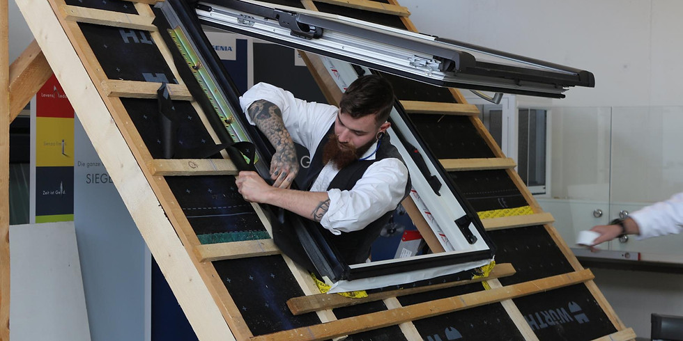 Dachfenstermontage