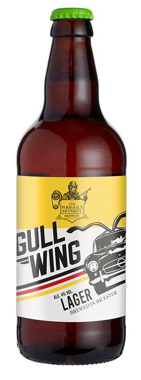 12x500ml Bottles – Gullwing 4% Lager