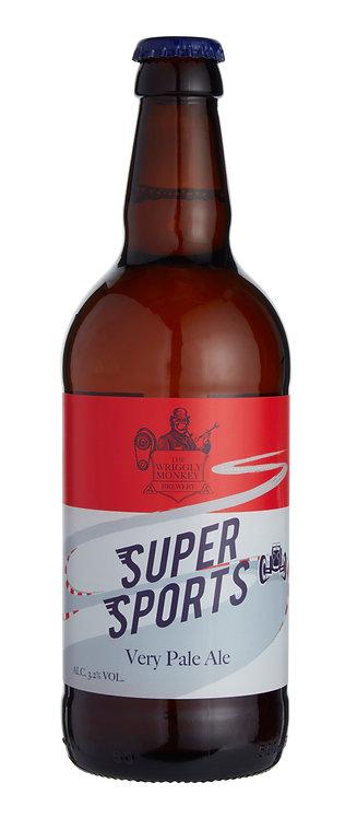 Super Sports Beer Bottle Front