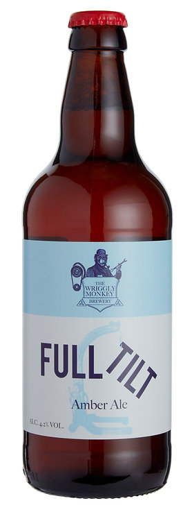 Full Tilt Beer Bottle Front