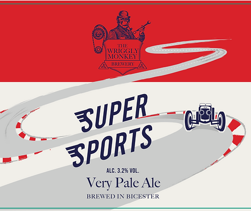 5L Bag-in-box - Super Sports 3.2% Very Pale Ale