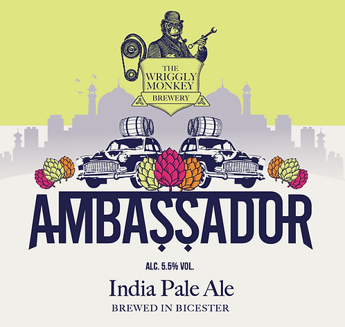 20L Bag-in-box - Ambassador 5.5% India Pale Ale