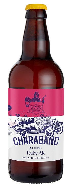 12x500ml Bottles - Charabanc 5.3% Ruby Ale