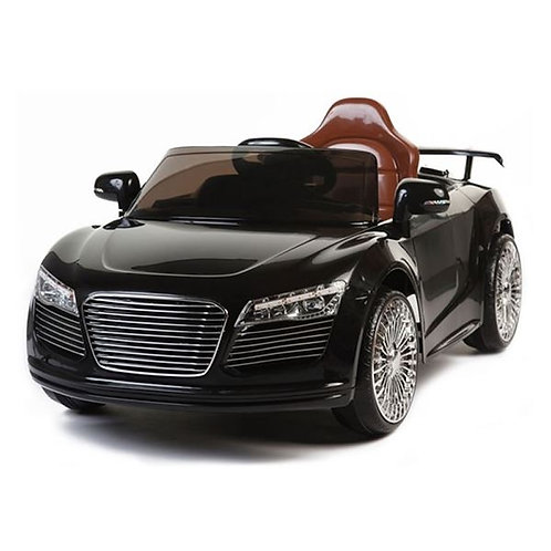 Audi Style 12v Kids Ride on Car with two speed and Remote - Black